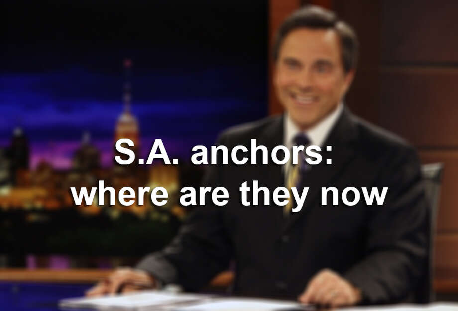See where past San Antonio anchors are now Photo: Photo Illustration