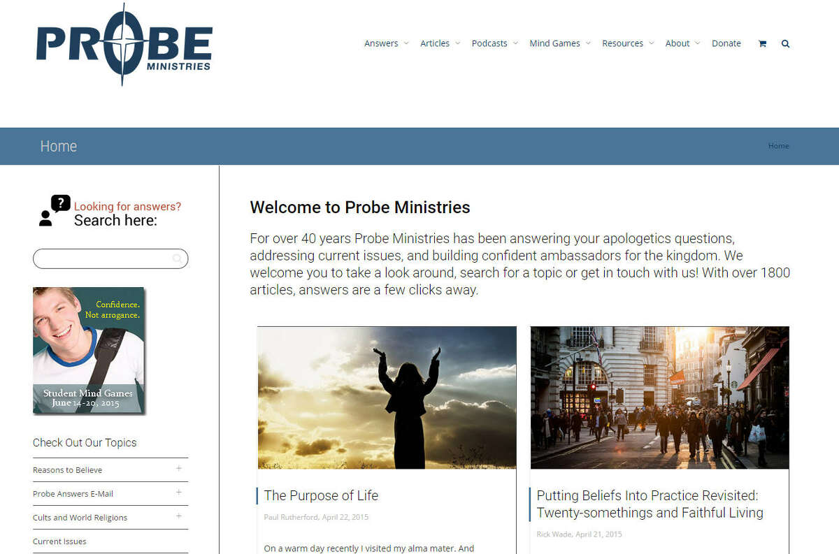 Probe Ministries in Plano was added to the Southern Poverty Law Center's list of hate groups this year.
