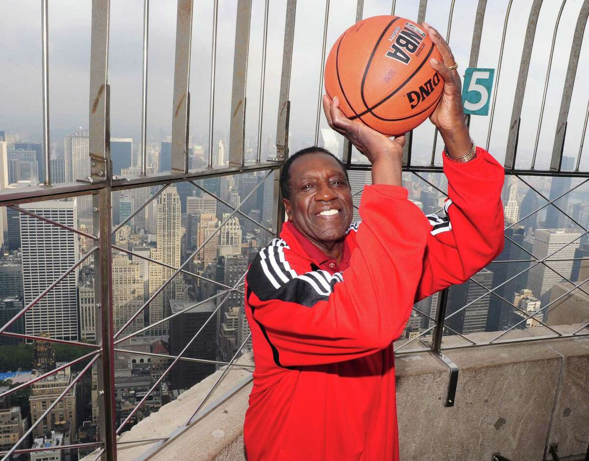 Harlem Globetrotter Meadowlark Lemon is being sued by his former wife and youngest son for $250,000 they claim he never paid them in child support.