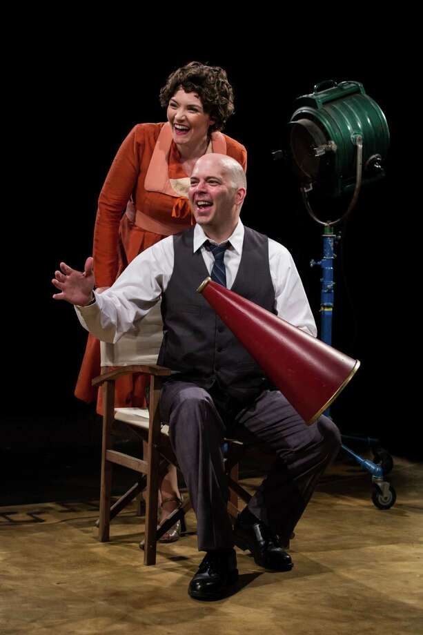 "Bridget Beirne and Tom Frey star in Stages Repertory Theatre's production of ""Mack and Mabel."" Photo: Amitava Sarkar / ONLINE_YES"