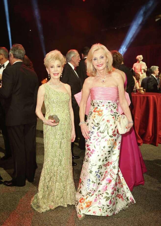Margaret Alkek Williams, left, and Pat Breen Photo: Jon Shapley, Staff / © 2015 Houston Chronicle