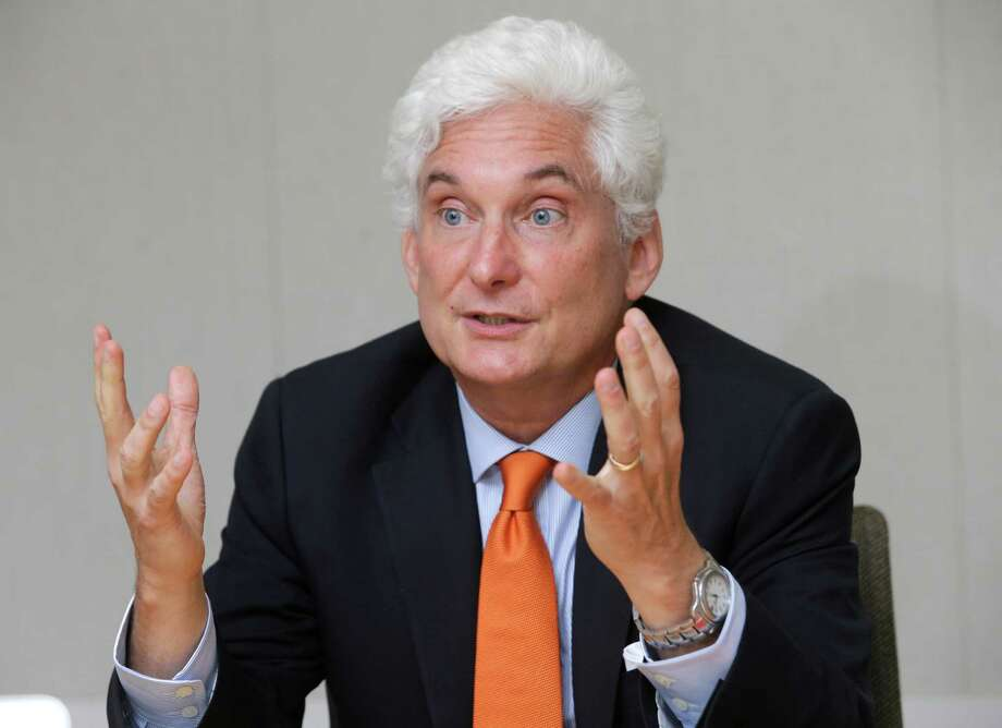 Roger Platt, president of the U.S. Green Building Council, discusses the LEED ( Leadership in Energy & Environmental Design) that his organization oversees shown Wednesday, May 13, 2015, in Houston. ( Melissa Phillip / Houston Chronicle ) Photo: Melissa Phillip, Staff / © 2015  Houston Chronicle