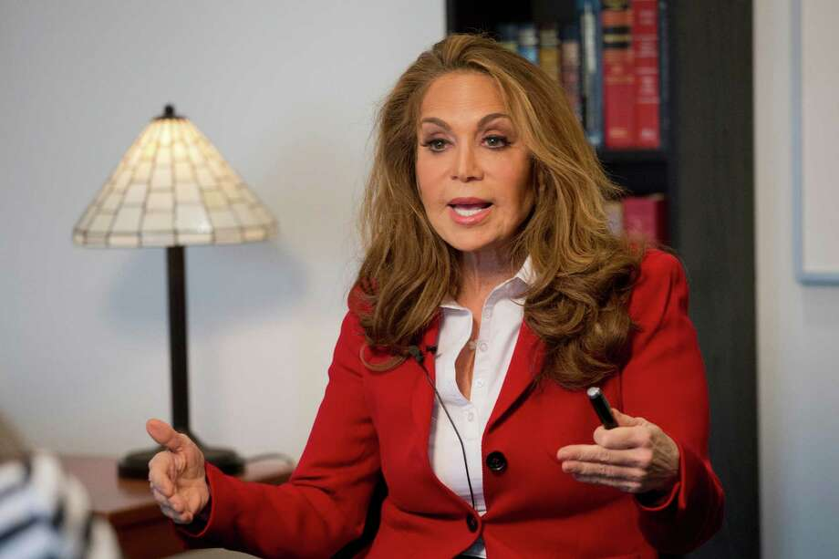 Yes, Pamela Geller is an appropriate symbol of U.S. free speech. Criticism after she hosted the Muhammed cartoon contest in Garland ignores that. She was drawing a line in the sand for Muslim fanatics. Photo: Mark Lennihan /Associated Press / AP