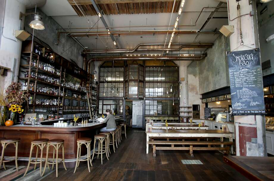 In 2014, Magnolia underwent its biggest expansion yet, opening Smokestack, a new brewery and barbecue restaurant in the Dogpatch neighborhood and quintupling beer production. Photo: Brant Ward, The Chronicle