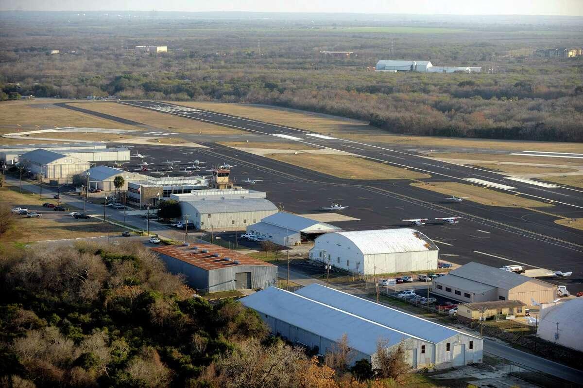 Stinson Municipal Airfield in San Antonio, Jan. 19, 2011.