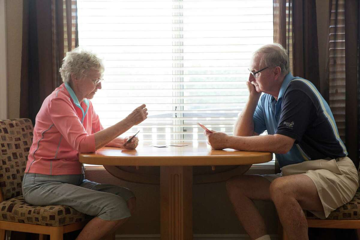 Bill Bengen (right), at home, is the retired financial planner who created the 4 percent retirement rule. Now retired, he says,