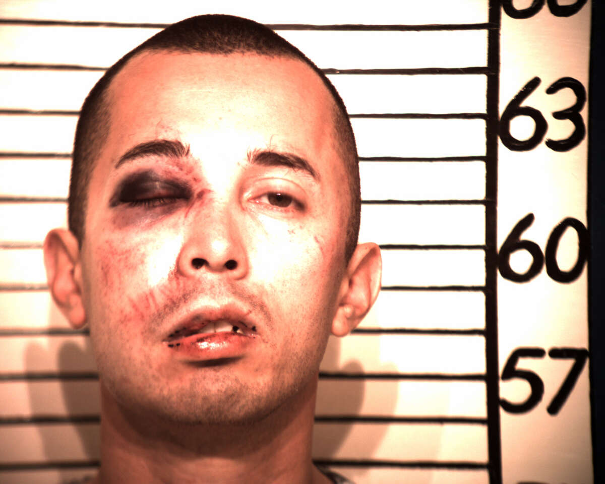 Jason Saucedo, who was arrested on felony retaliation charges for targeting a New Braunfels detective.