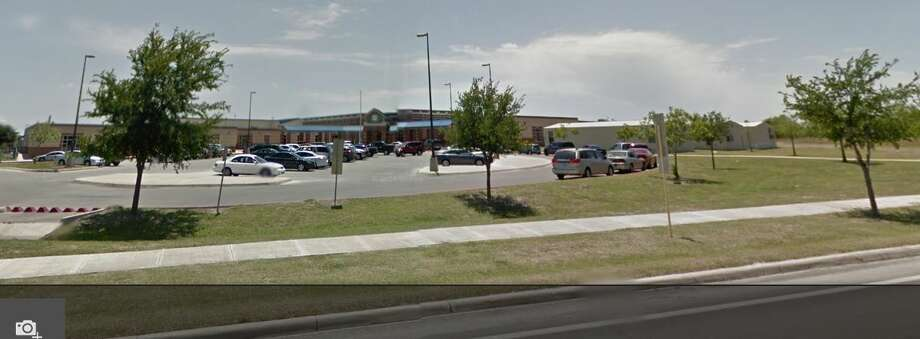 Hartman Elementary school from Google Street maps. Photo: Miller, Jessica, Google Street View
