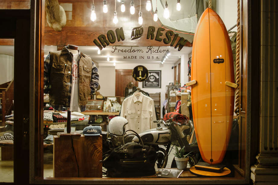 Iron & Resin in North Beach offers top-of-the-line functional gear with a vintage vibe. Photo: Iron & Resin / ONLINE_YES