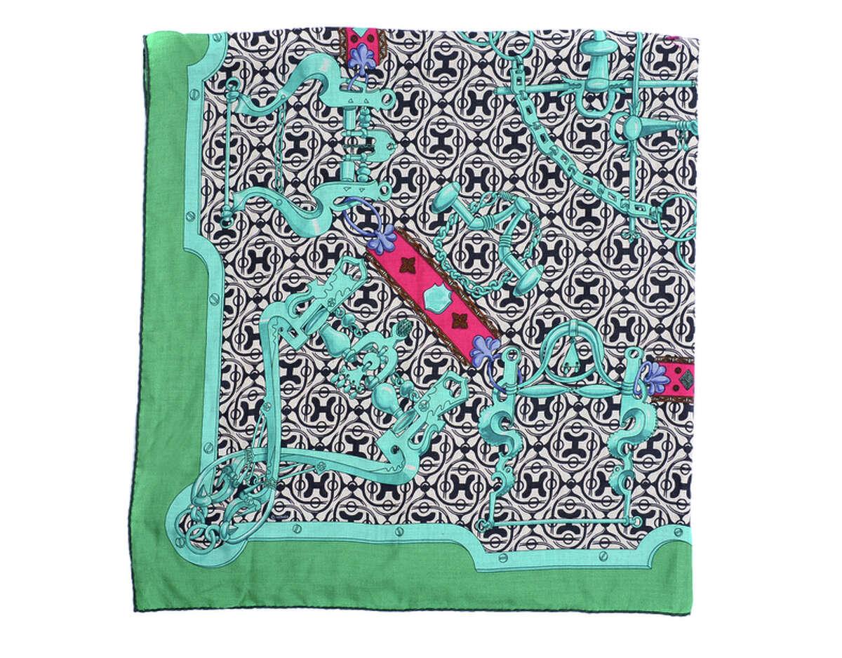 Hermes scarf, $398. Jeremy's Department Store, 2 S. Park St, S.F. (415) 882-4929 http://www.jeremys.com.