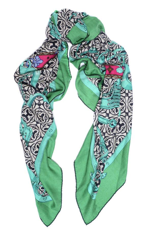 Hermes scarf, $398. Jeremy's Department Store, 2 South Park St., S.F. (415) 882-4929. http://www.jeremys.com. Photo: Jeremy's / Jeremy's / ONLINE_YES