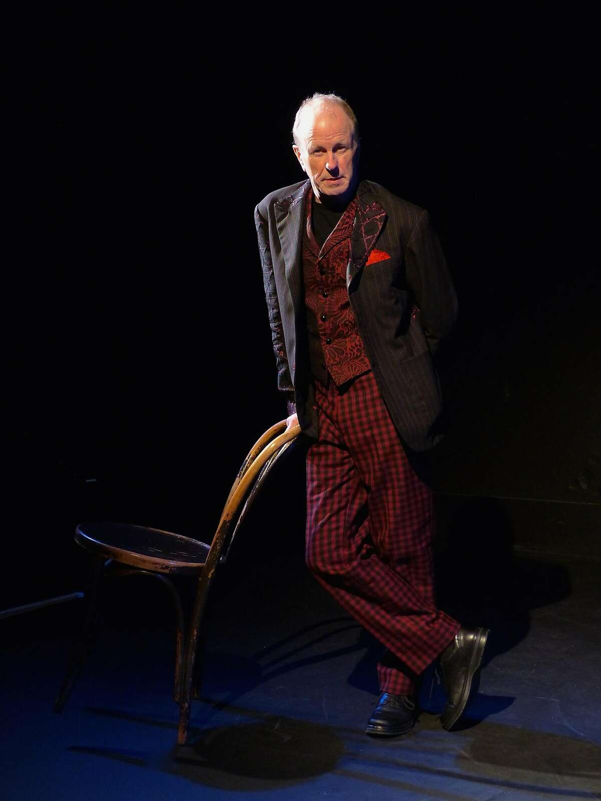 Geoff Hoyle plays the Fool, King Lear and the daughters in his solo