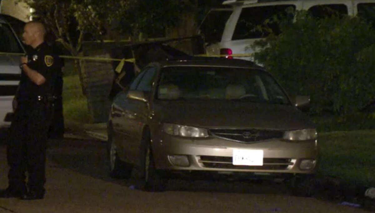 A man was gunned down Friday night in the driveway of his southeast Houston home. He was shot multiple times in the head and chest. He died at a nearby hospital, authorities said. Police are still searching for the shooter.