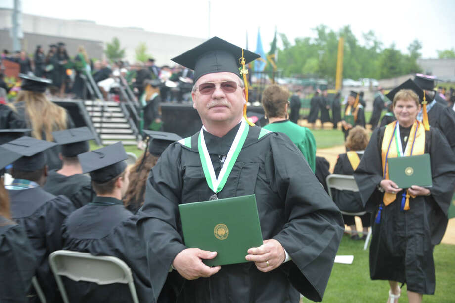 Were you Seen at the Hudson Valley Community College's 61st annual commencement on Saturday, May 16, 2015, at Joseph L. Bruno Stadium in Troy? Photo: Konrad Odhiambo