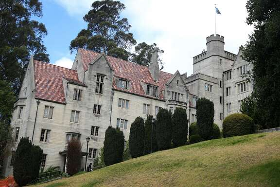 Bowles Hall is seen at UC Berkeley on Friday, May 15, 2015. The historic, castle-like mansion will close for a year to be gutted and rebuilt as a coed residential college.