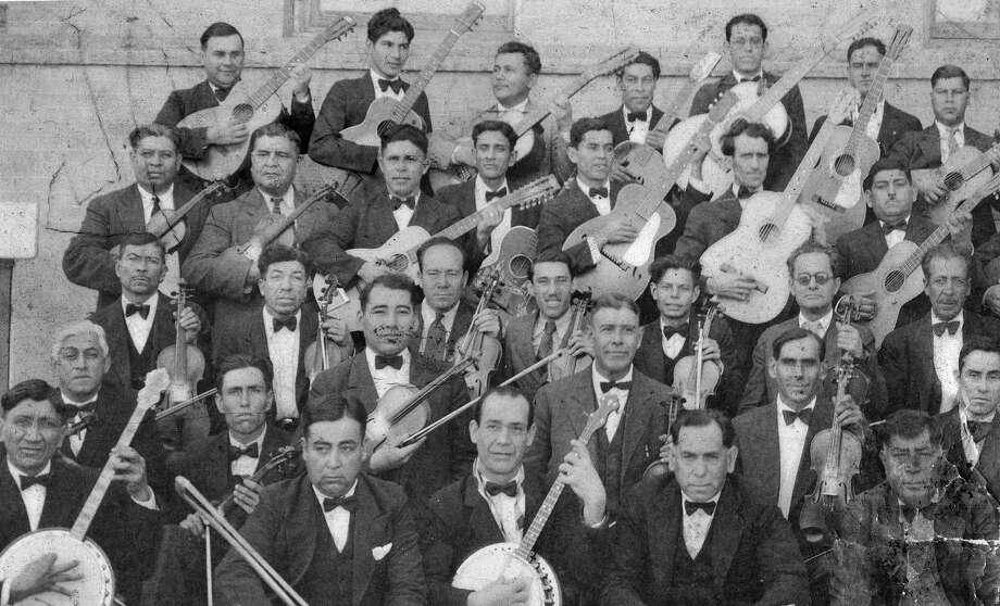 "Eugenio ""Gene"" Cortez's undated photograph likely is of the Tipica Orchestra. Photo: Courtesy / Eugenio ""Gene"" Cortez"