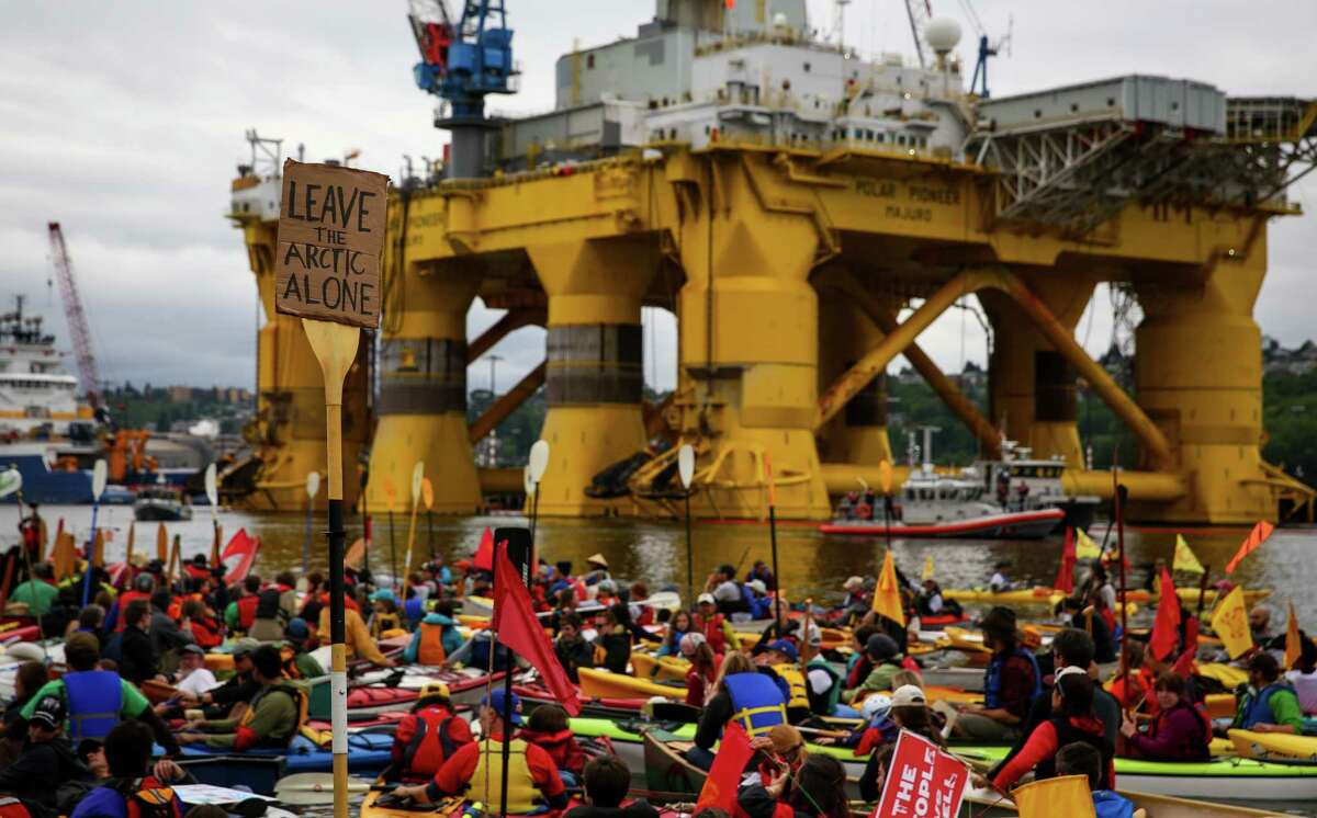 Shell Oil: The oil giant invested more than $7 billion in Arctic exploration, enduring pratfalls and public embarrassments. Its Arctic drilling rigs became villains in Seattle and Portland. After drilling one unsuccessful well in Alaska's Chukchi Sea, the company abandoned its entire Alaskan drilling operation. Shell is trying to hold onto leases, for which it paid the federal government $2.8 billion. The company is left with memories ... one drilling rig nearly going aground in Unalaska Bay, and later hit with $12.2 million in penalties after a Coast Guard inspection ... a containment dome that