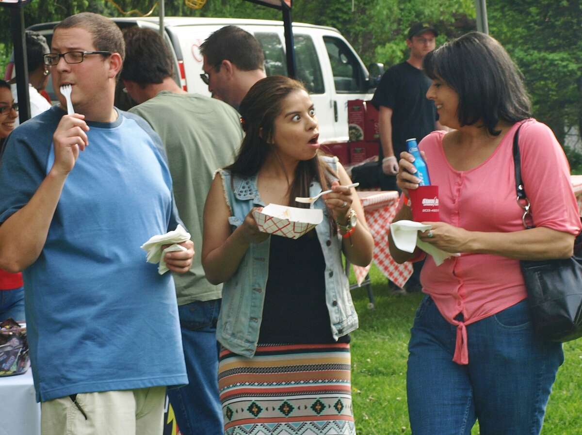 The Brews & BBQ Festival, put on by America On Tap, was held at the Ives Concert Park in Danbury on May 16, 2015. Were you SEEN?