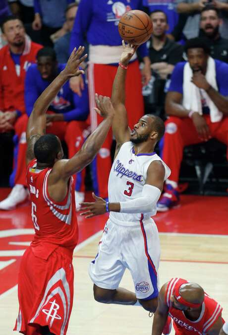 With his return to health after opening the series nursing a hamstring injury, Clippers guard Chris Paul (3) has been a thorn in the Rockets' side. He has averaged 20 points, hitting 50 percent of his shots and 41.7 percent of his 3s. Photo: Karen Warren, Staff / © 2015 Houston Chronicle
