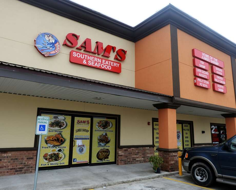 Pictured is the facade of Sam's Southern Eatery on Monday afternoon. Sam's Southern Eatery, located in the Mars Plaza on College Street, is the Cat5 Restaurant of the Week for January 22, 2015. Photo taken Monday 1/12/15 Jake Daniels/The Enterprise Photo: Jake Daniels/The Enterprise