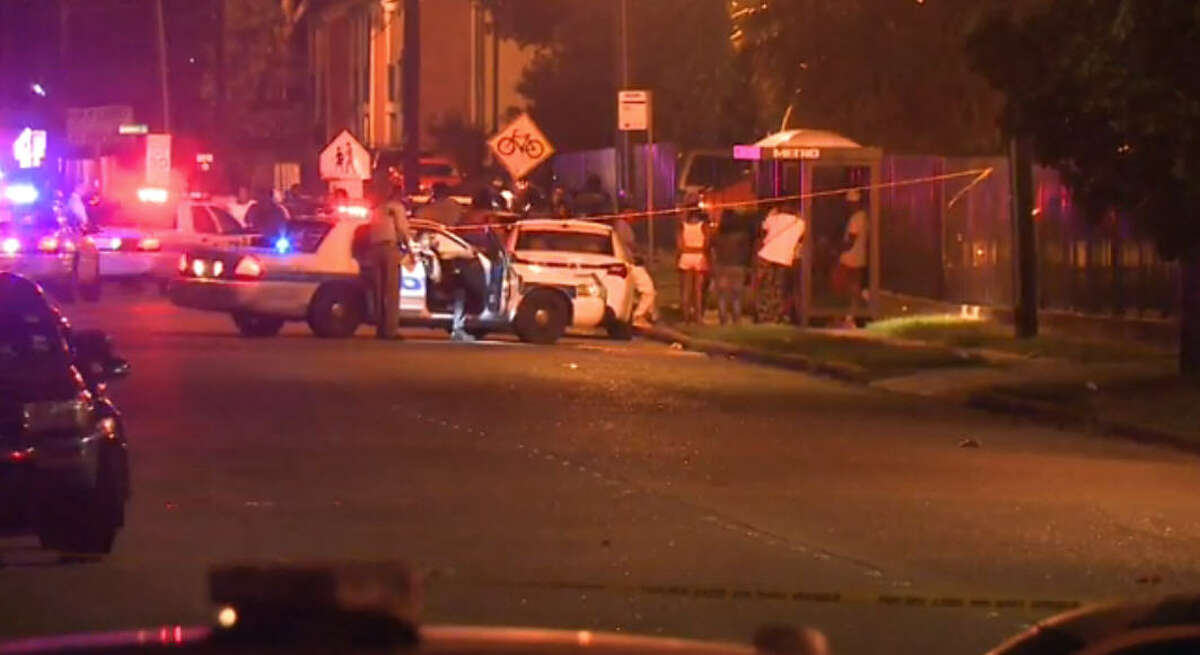 a fist fight broke out when two rival gang members showed up at the party. The fight spilled onto the street and one of the men involved began running down Dumfries toward Fondren, with another male chasing him, firing repeatedly. The shooter eventually shot and killed the victim, and hit a woman in the leg.
