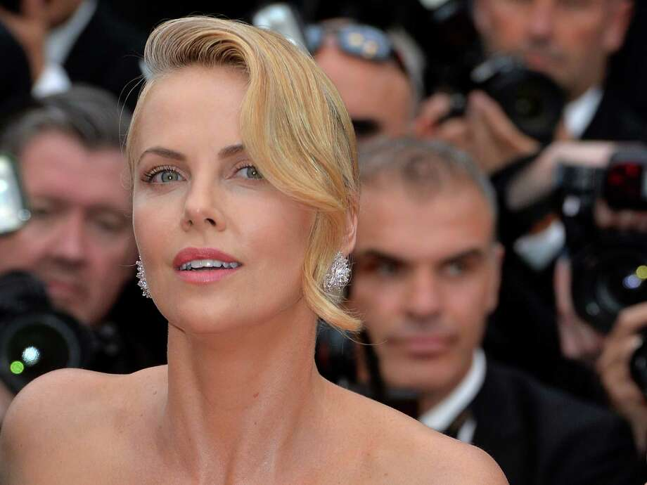 "Charlize Theron attends the ""Mad Max: Fury Road"" premiere during the 68th annual Cannes Film Festival on May 14, 2015 in Cannes, France.  (Photo by Anthony Harvey/FilmMagic,) Photo: Anthony Harvey, Getty Images / 2015 Anthony Harvey"