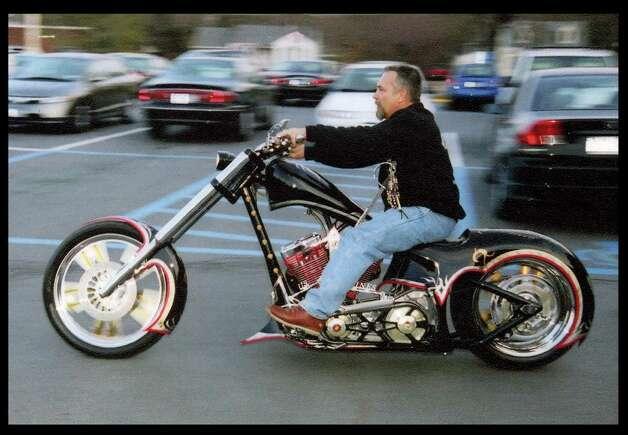 Bikes 4 Vets Project Tribute Bike he built in