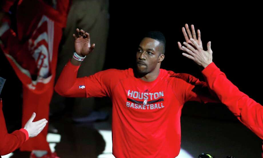 Dwight Howard reached double figures in scoring and rebounding in all but one game against L.A. Photo: Karen Warren, Staff / © 2015 Houston Chronicle