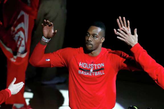Dwight Howard reached double figures in scoring and rebounding in all but one game against L.A.