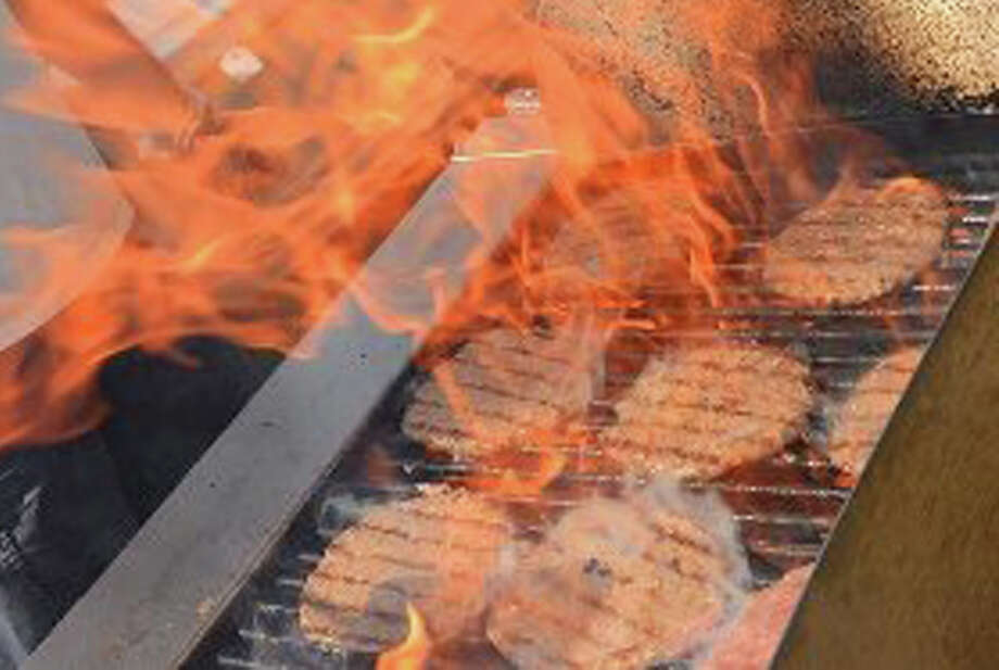 The New Canaan Fire Marshal's Office has some tips for safe summer grilling. Photo: File Photo / New Canaan News