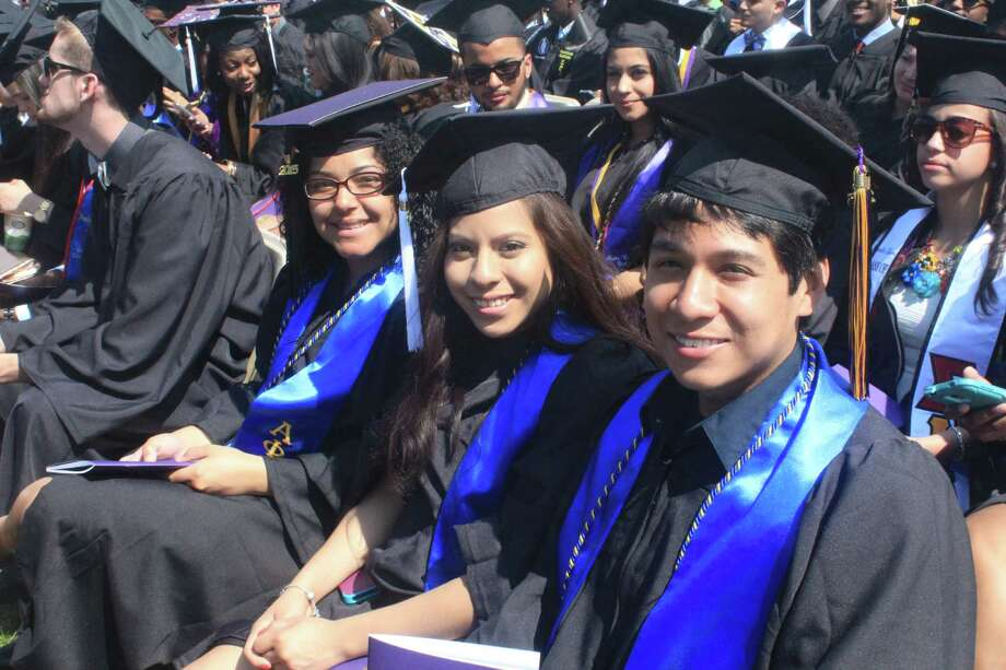 Were you Seen at the graduate and undergraduate commencements at UAlbany on Saturday and Sunday, May 16-17, 2015? Photo: Jason Agyekum/University At Albany Photography