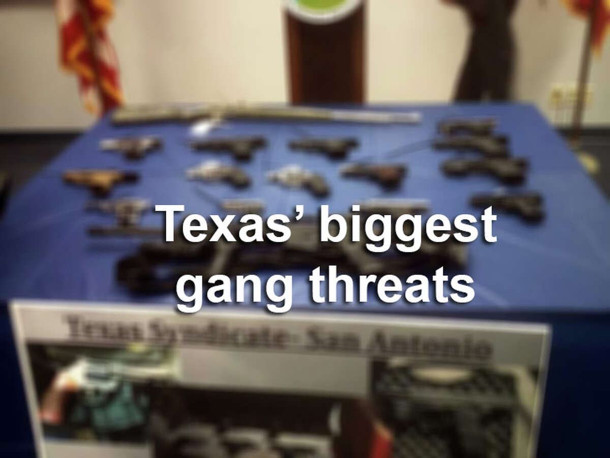 The gallery provides a look at some of the largest gangs in Texas.