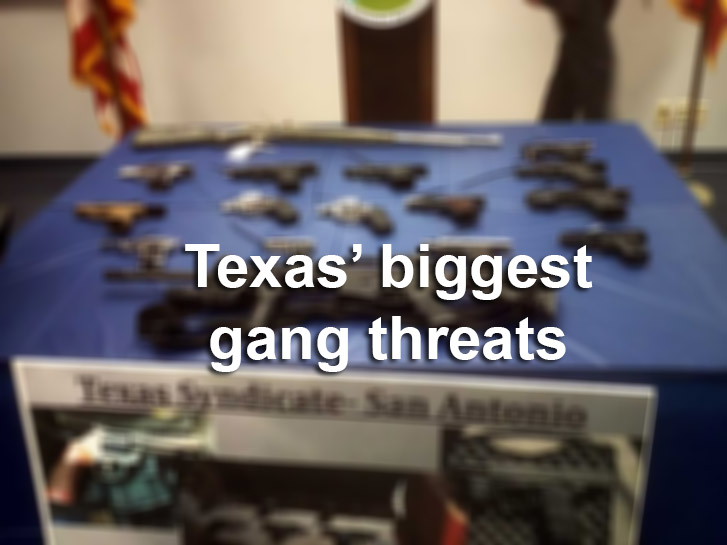 Texas Biggest Gang Threats San Antonio Express News