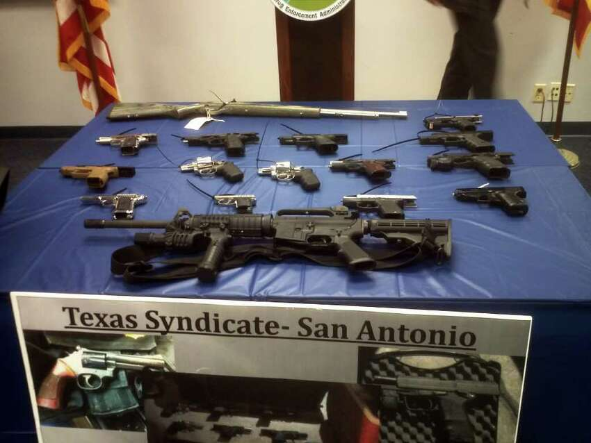 These are Texas' biggest gang threats These are the state's most worrisome gang threats according to the Department of Public Safety's Texas Gang Threat Assessment. Above: These weapons were seized from members of the Texas Syndicate during an 18-month investigation. The probe led to 18 people being indicted.