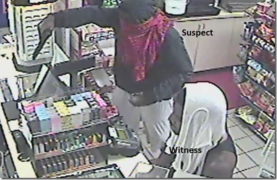 The Pinehurst Police is asking for help in identifying the suspect who robbed a Kwick Stop on Sunday.  Photo: Pinehurst Police Department