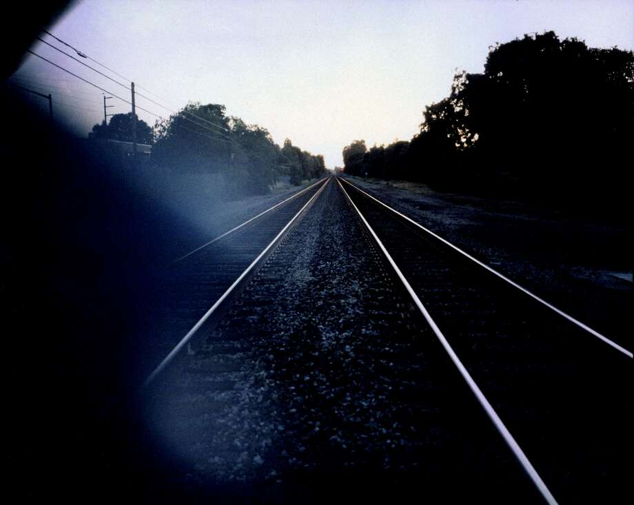 The tracks near East Meadow Drive in Palo Alto, where multiple high school students have gone to die. Photo: Justin Maxon, San Francisco Magazine