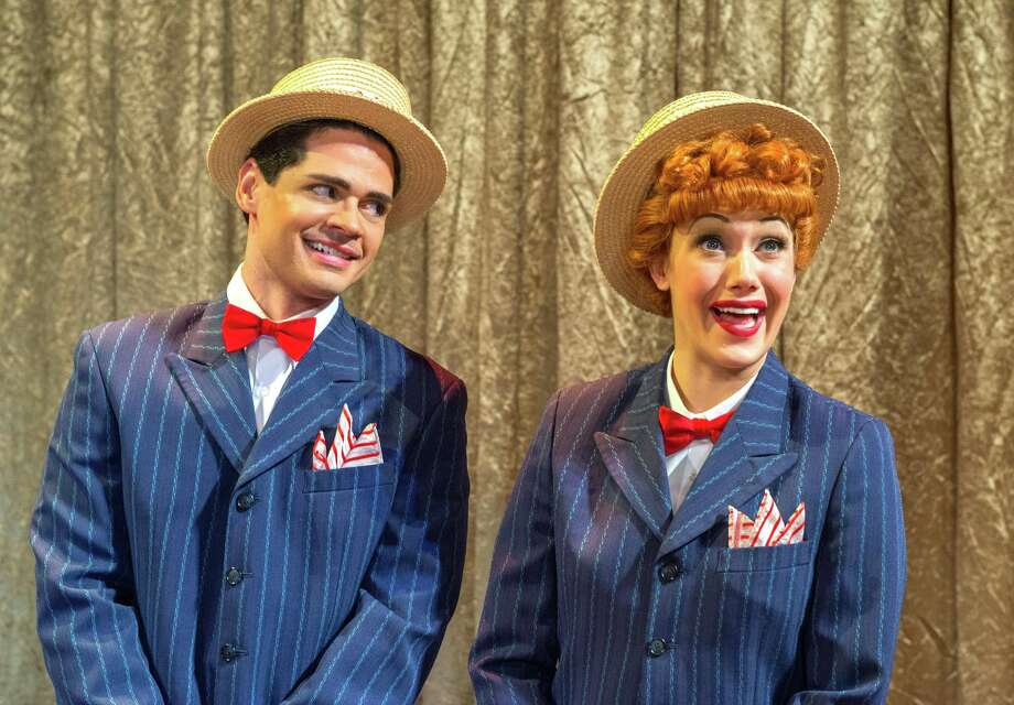 """Euriamis Losada is Ricky Ricardo and Thea Brooks is Lucy Ricardo in """"I Love Lucy Live on Stage"""" which will play the Palace Theater in Waterbury May 30-31. Photo: Contributed Photo / Connecticut Post Contributed"""