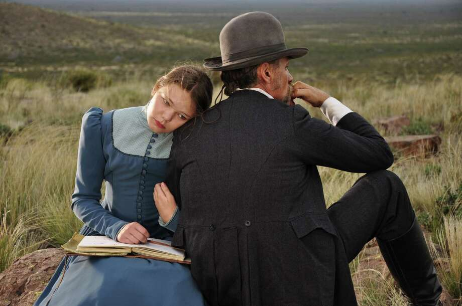 """Viilbjørk Malling Agger and Viggo Mortensen play a daughter and father in 19th century Patagonia in """"Jauja."""" Photo: Cinema Guild / Cinema Guild / ONLINE_YES"""