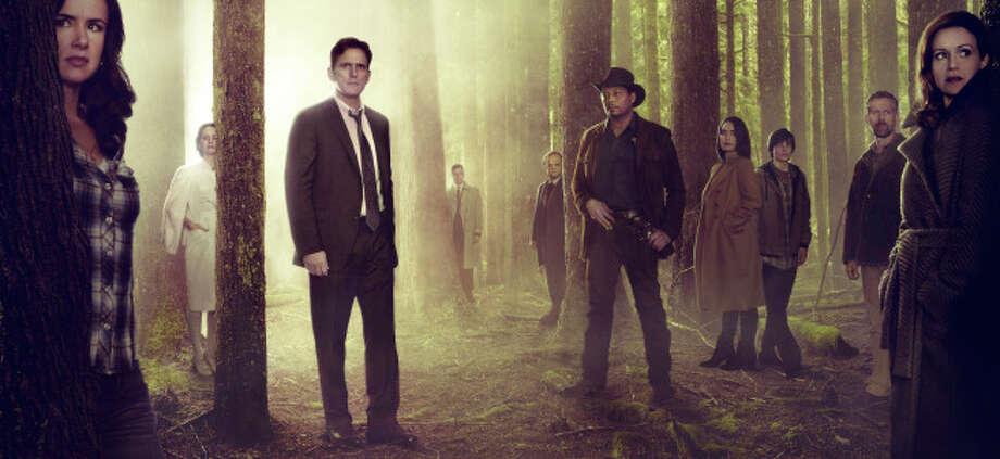"M. Night Shyamalan's new series, ""Wayward Pines,"" debuts on FOX on Thursday, May 14th. Photo: FOX / 1"