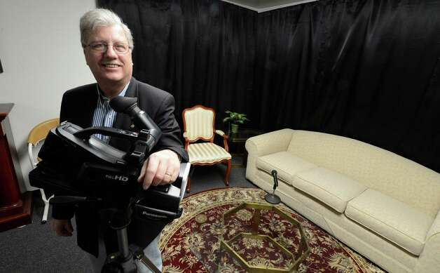 Randall Hogue, executive director of the Schenectady Access Cable Council, as seen in Feb. 2013. The council in May 2015 sued Schenectady Mayor Gary McCarthy and Proctors theater for fraudulantly taking over the group, and its funds and equipment, in 2009.   (Skip Dickstein/Times Union) Photo: SKIP DICKSTEIN / 10021304A