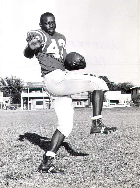 Brackenridge star Warren McVea poses for a shot in 1962. Photo: Courtesy Photo