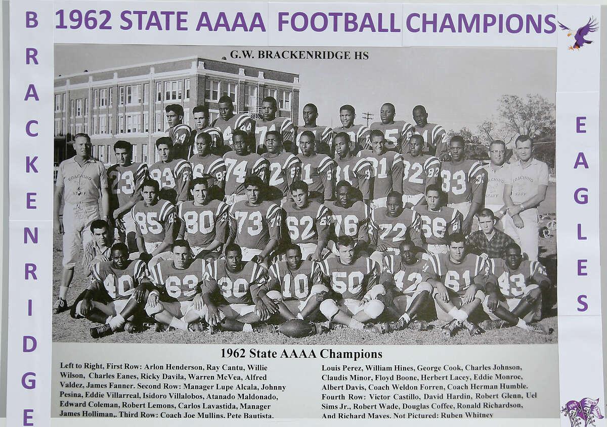 1962 4A State Championship Brackenridge Eagles 30, Borger Bulldogs 26