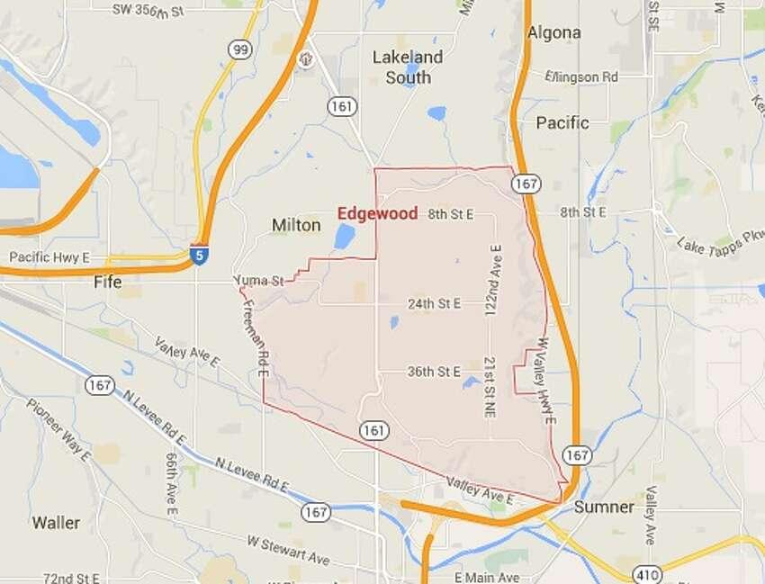 24. Edgewood Pierce CountyPopulation: 9,482