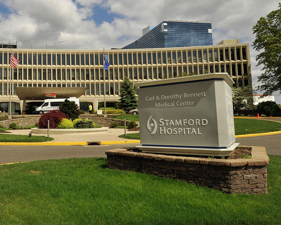 The exterior of the main entrance of Stamford Hospital on Shelburne Street can be seen in Stamford, Conn., on Wednesday, May 13, 2015. Photo: Jason Rearick / Stamford Advocate