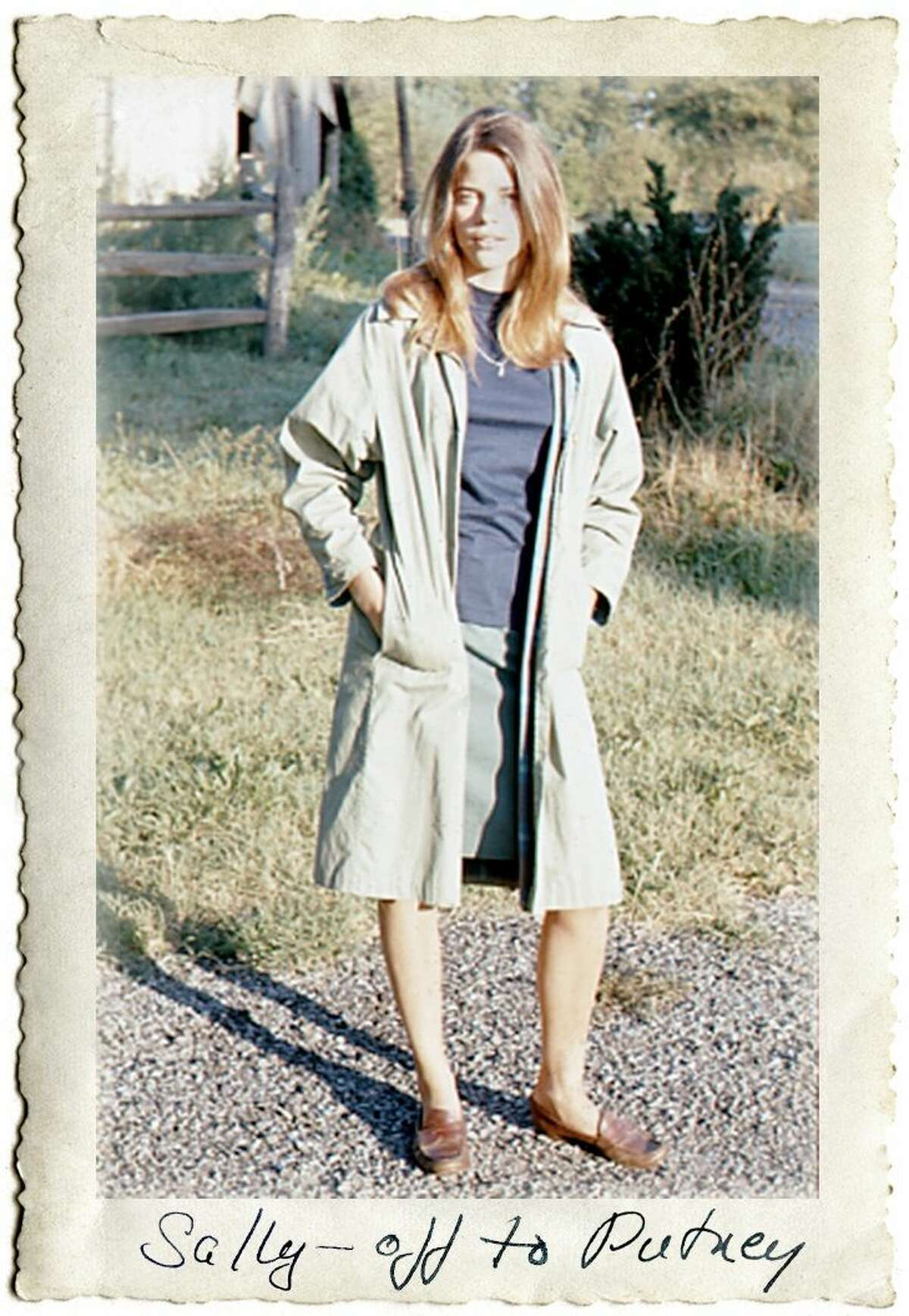 Sally Mann, off to the Putney School in Vermont in 1967.