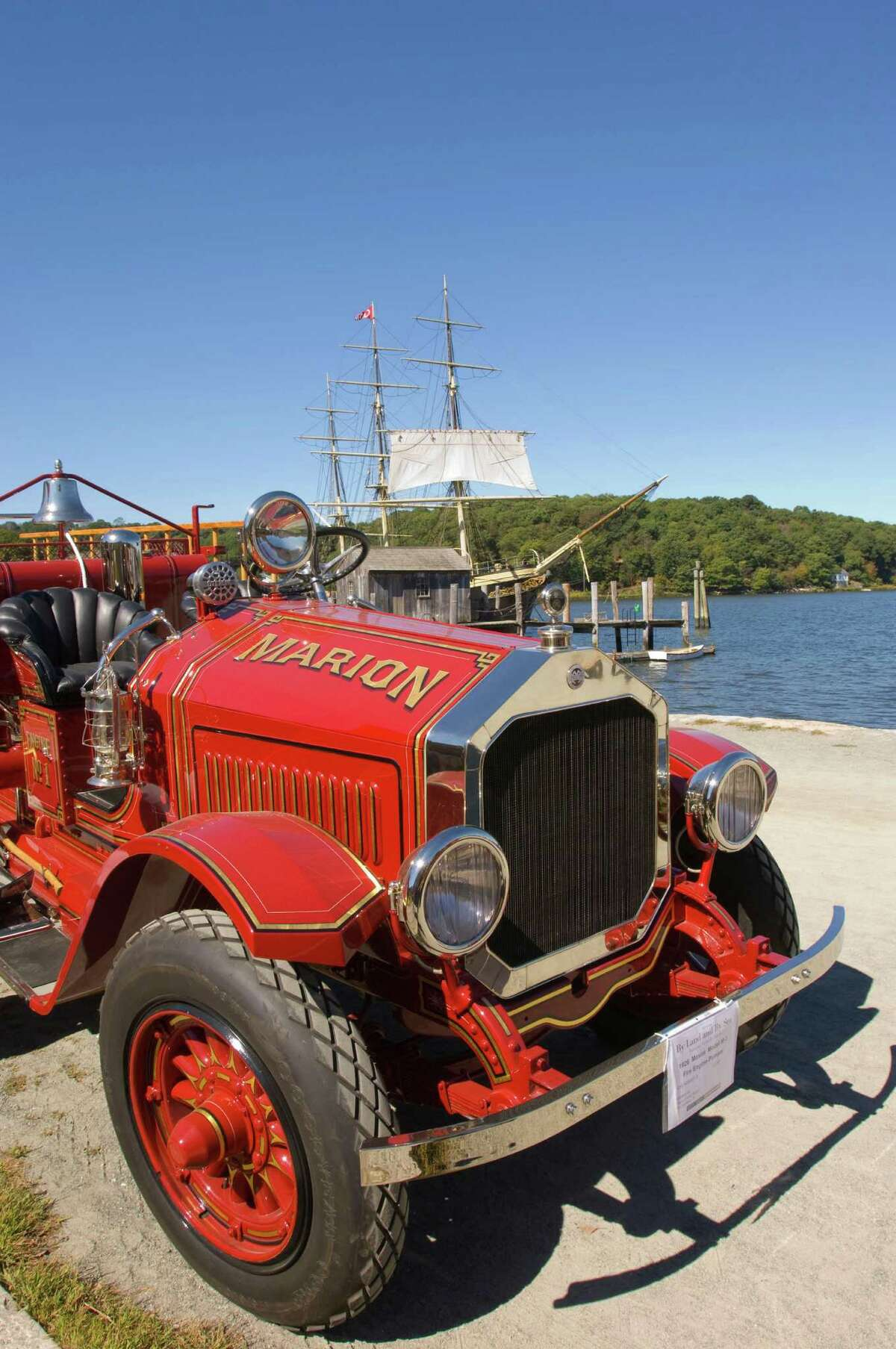 On May 30-31, Mystic Seaport will present a display of antique fire-fighting equipment, and offer numerous programs on summer vacation saftey concerns.