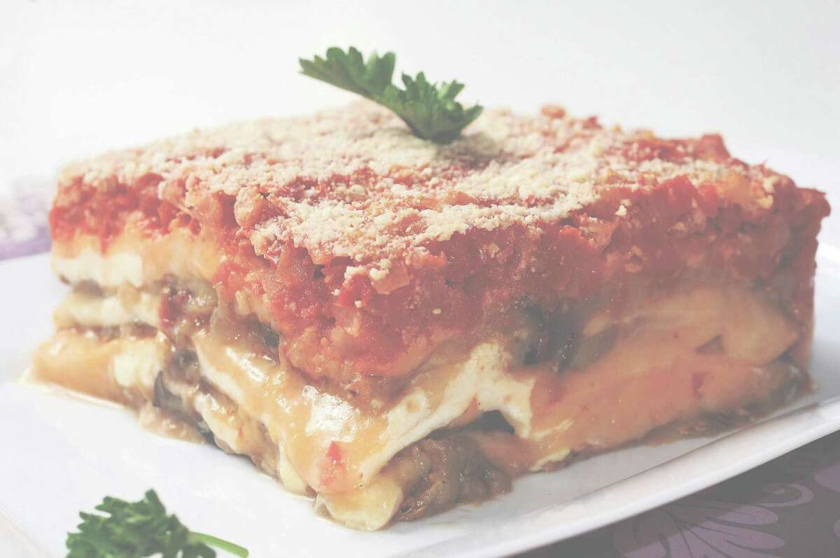 The eggplant lasagna at Gusto Gourmet tastes as if someone's mother made it personally for patrons.