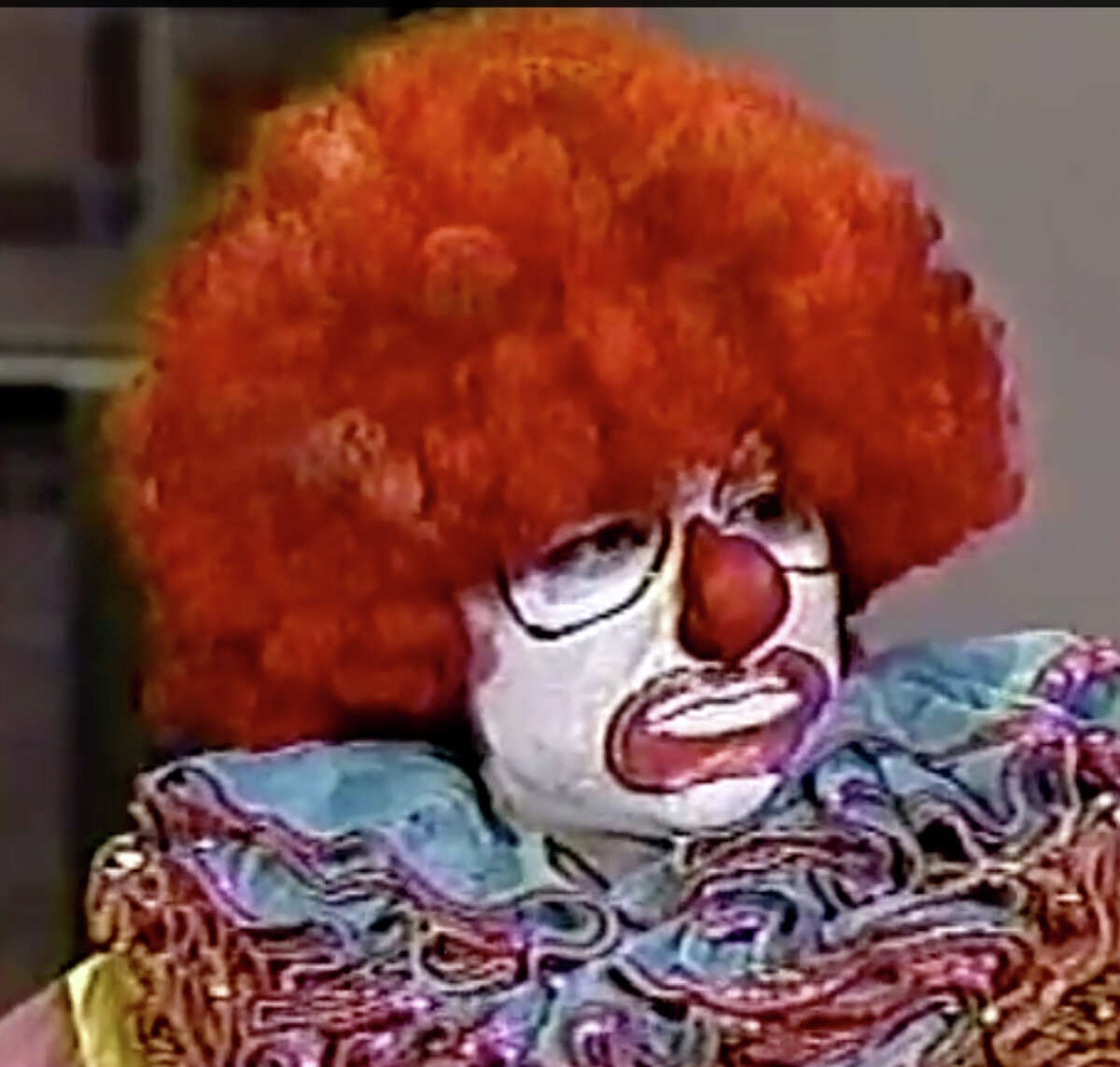 """Jeff Martin played Flunky the Clown on """"Late Night With David Letterman."""""""
