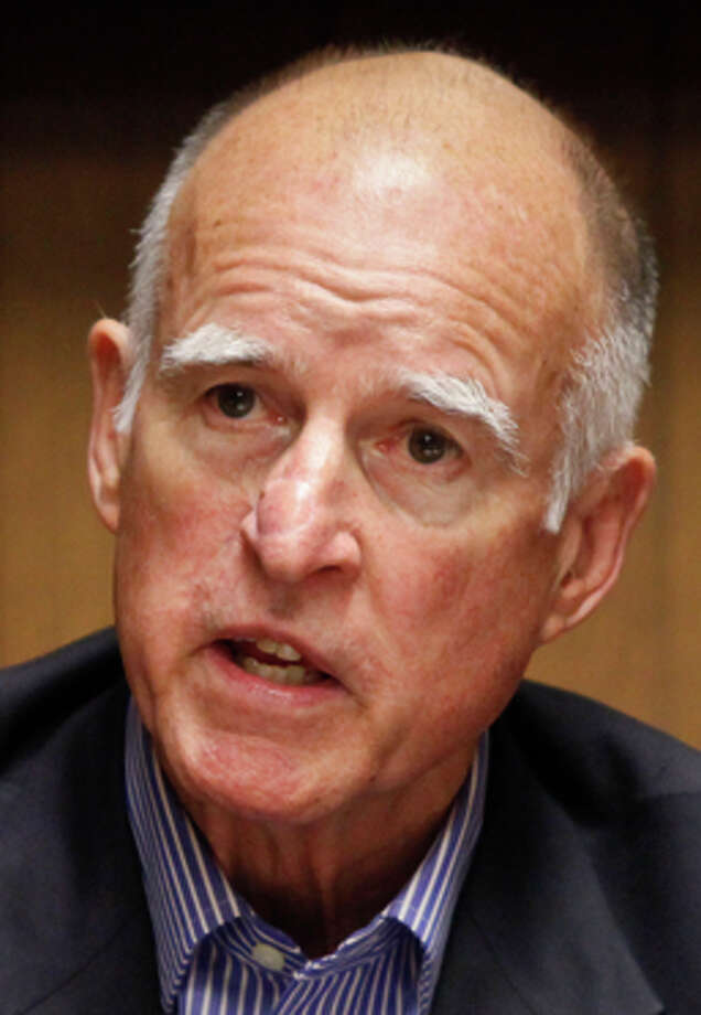 Gov. Jerry Brown has called for significant mandatory cuts. Photo: Russell Yip / The Chronicle / ONLINE_YES