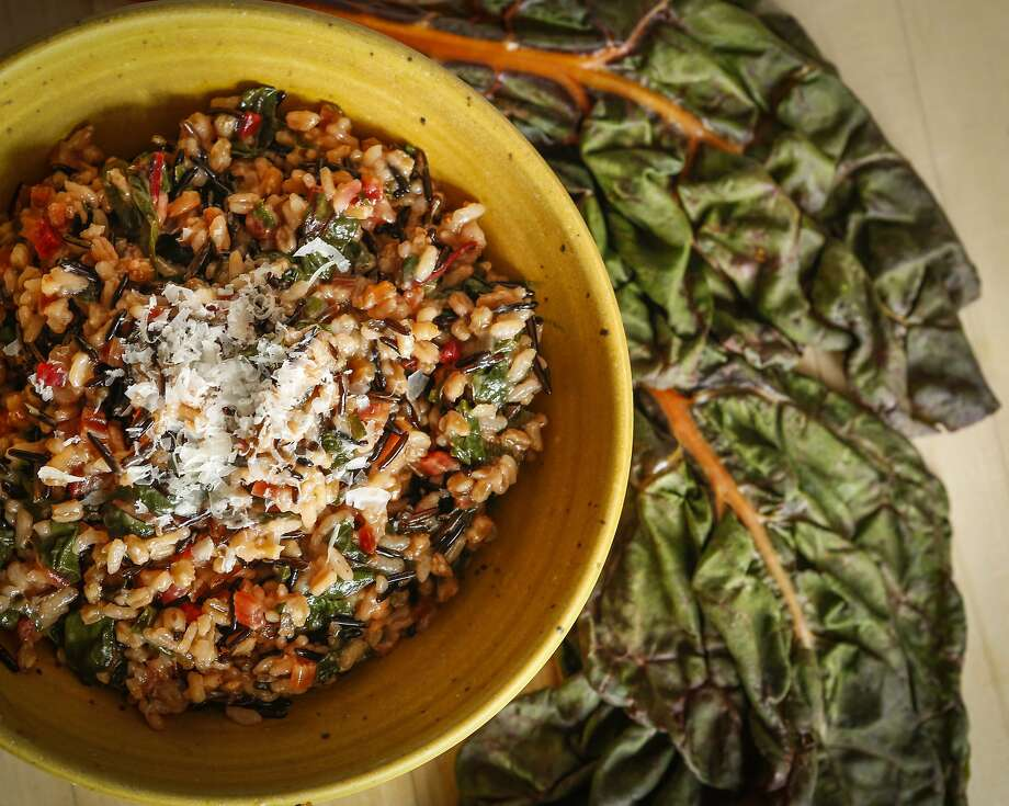 Mixed Grains Risotto is seen on Monday, May 18, 2015 in San Francisco, Calif. Photo: Russell Yip, The Chronicle